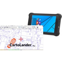 Bundle Tablette 8 pouces + CartoLander Pro