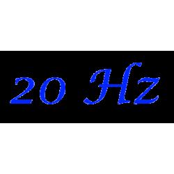 Option 20 Hz pour SXblue Platinium