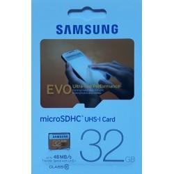 Carte  micro SDHC 32Go
