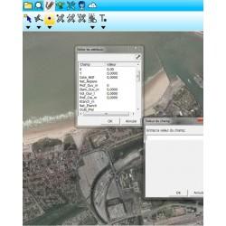 SuperPAD, le logiciel  tout terrain SHP